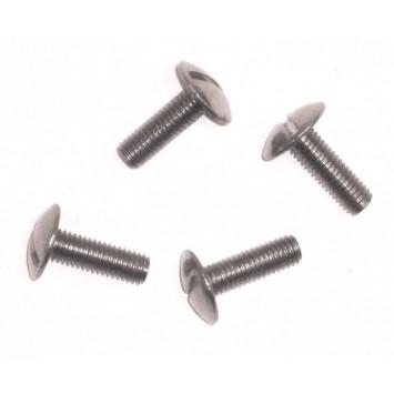 Visserie inox pour cale-pieds aluminium, nylon, ou 4 crans..