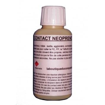 Flacon 125 ml de colle néoprène