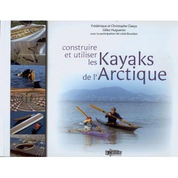 """Livre """"Construire et utiliser les kayaks de l'Arctique"""""""
