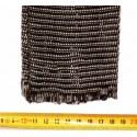 Tresse carbone tubulaire élastique 100mm