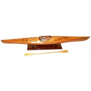Maquette bois kayak de mer.