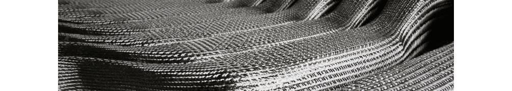 rubans et tresses verre, kevlar et carbone, UD et fil carbone