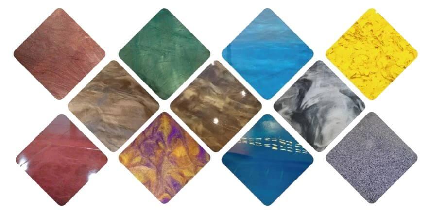 Pigments-poudre-sols