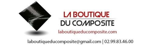 Logo La Boutique du Composite. MACK.