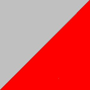 Rouge et gris